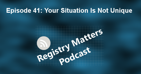 RM41 - Your situation is not unique