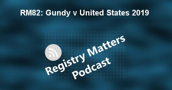 RM82: Gundy v United States 2019