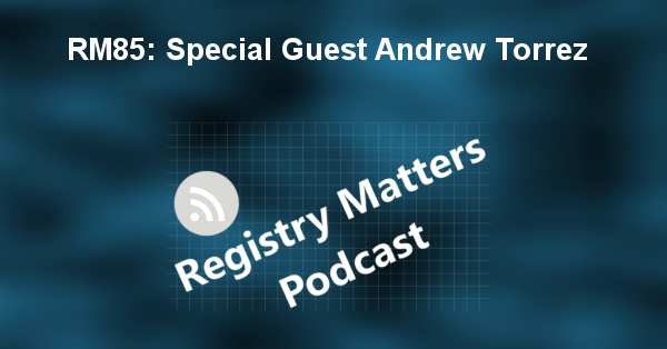 RM85: Special Guest Andrew Torrez