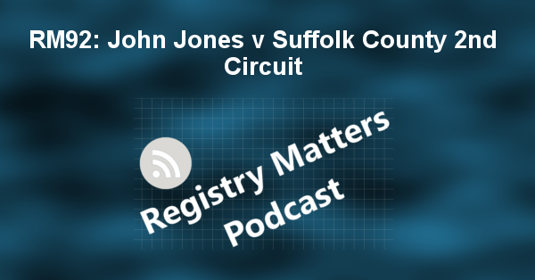 RM92: John Jones v Suffolk County 2nd Circuit