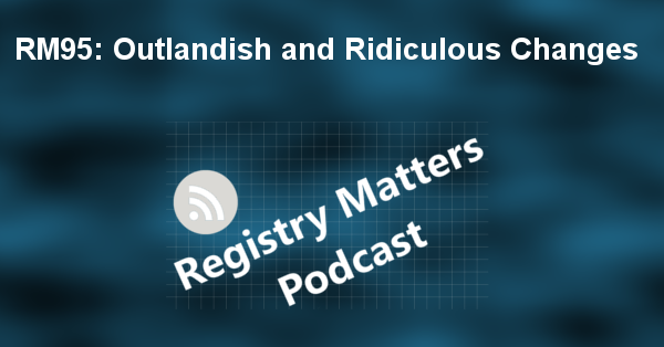 RM95: Outlandish and Ridiculous Changes
