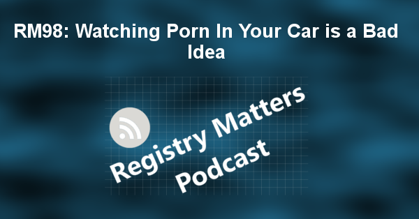 RM98: Watching Porn In Your Car is a Bad Idea