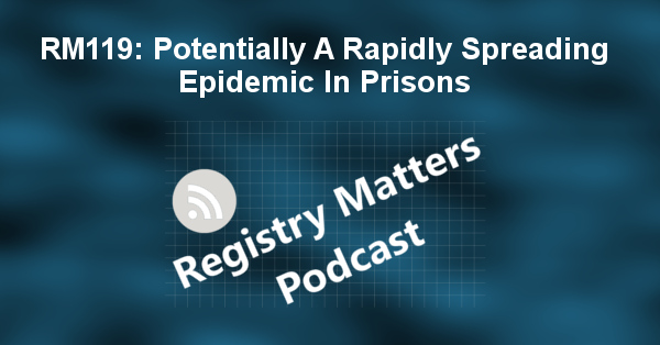 RM119: Potentially A Rapidly Spreading Epidemic In Prisons