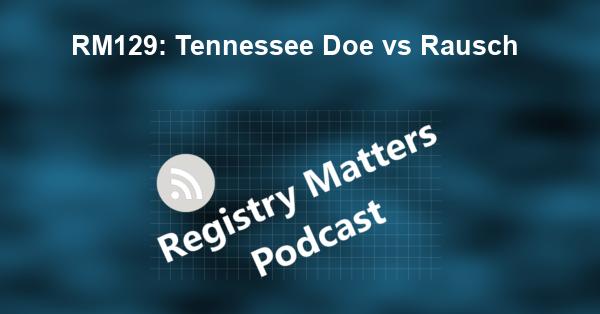 RM129: Tennessee Doe vs Rausch