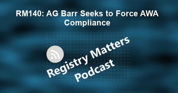 RM140: AG Barr Seeks to Force AWA Compliance
