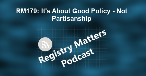 RM179: It's About Good Policy - Not Partisanship
